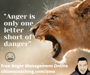 Anger Management Quotes Anger is one letter short of danger