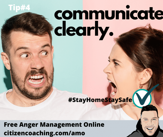 Anger Management Tips Communicate Clearly man and woman argue