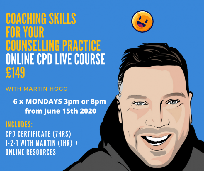 coaching skills for counsellors cpd course image