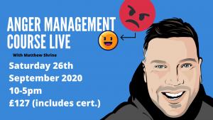 anger management course birmingham september 2020