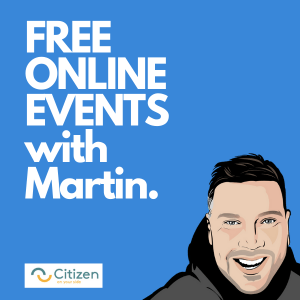 free online events with Martin Hogg Citizen Coaching