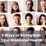 image indicating 5 ways to strengthen your emotional health citizen coaching and counselling Birmingham