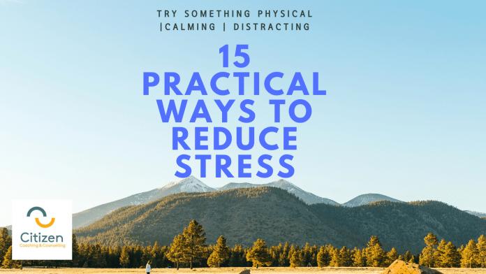 15 ways to reduce stress image