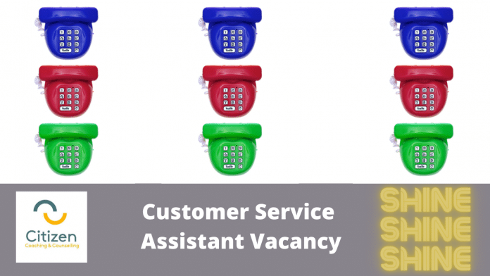 customer service assistant vacancy image