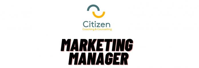 Marketing Manager Citizen Coaching