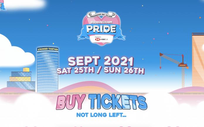 Citizen Coaching Birmingham Pride Sponsor 2021 graphic