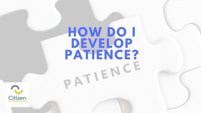 how do I develop patience jigsaw image
